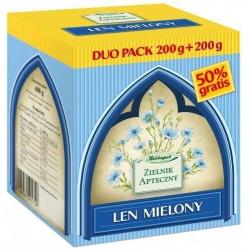 Len mielony DUO PACK 2x200g