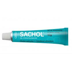 Sachol Żel stomatologiczny tuba 10g