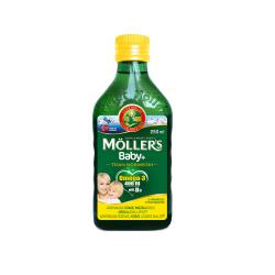 Moller's Baby+ Tran Norweski Cytrynowy Płyn 250ml