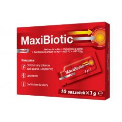MaxiBiotic maść 10 saszetek 1g 31.05.2020 r.