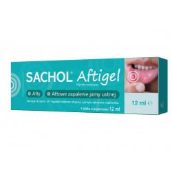 Sachol Aftigel Żel stomatologiczny na afty Tuba 12ml