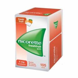 NICORETTE FreshFruit Gum 4mg 105 sztuk