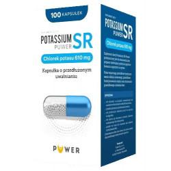 Potassium SR Puwer 610mg 100 kapsułek