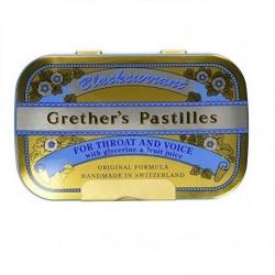 Grether'S Blackcurrant Regular Pastylki o smaku czarnej porzeczki 60g