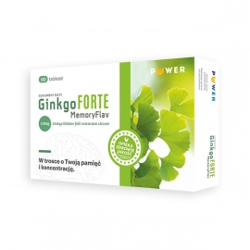 GinkgoForte Memory Flav 60 tabletek