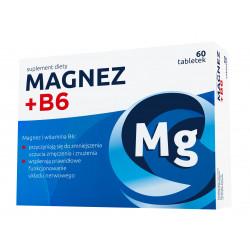 Magnez + Witamina B6 60 tabletek