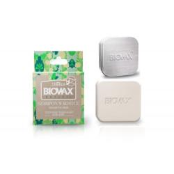 L'Biotica Biovax Szampon w kostce skrzyp polny i aloes 82g + Etui