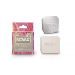 L'Biotica Biovax Szampon w kostce malina, róża i baicapil 82g + Etui