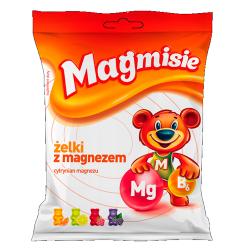 Magmisie Żelki z magnezem 4 smaki 120g
