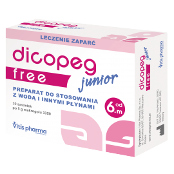 Vitis Pharma Dicopeg Junior Free od 6 miesiąca życia 5g 30 saszetek