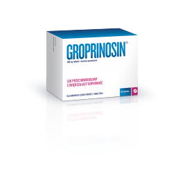 Groprinosin 500mg  50 tabletek