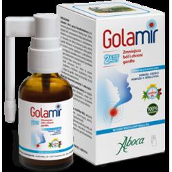 Golamir 2ACT spray do gardła bezalkoholowy dla dzieci i dorosłych 30ml