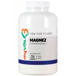 MyVita Magnez (cytrynian) proszek 250g