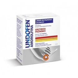 Undofen Amorolfina 50 mg/ml Lakier do paznokci leczniczy 2,5ml