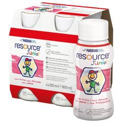 Resource Junior smak truskawkowy powyżej 1 roku 4x200ml