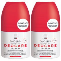 IWOSTIN Deocare Extreme antyperspirant roll-on 2x50ml