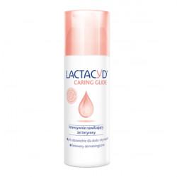 Lactacyd Caring Glide intensywnie nawilżający żel intymny 50ml + Chusteczki