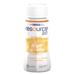 Resource 2.0 Smak waniliowy 200ml,  Data ważności: 20.08.2021 r.