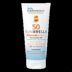 Dermedic Sunbrella Mleczko ochronne SPF50 od 1 miesiąca życia z prekursorem witaminy D3 100ml