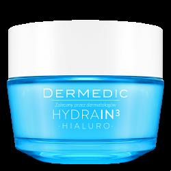 DERMEDIC Hydrain3 Hialuro Krem nawilżający o dogłębnym działaniu SPF15 50ml