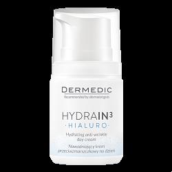 DERMEDIC Hydrain3 Hialuro Nawadniający krem przeciwzmarszczkowy na dzień 55ml