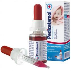 Pedicetamol 100mg/ml Roztwór doustny dla dzieci i niemowląt od urodzenia 30ml