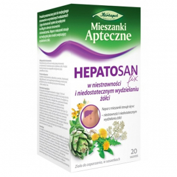 Zioła fix Hepatosan 20 saszetek