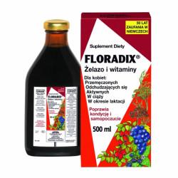 Floradix Płyn żelazo i witaminy 500ml