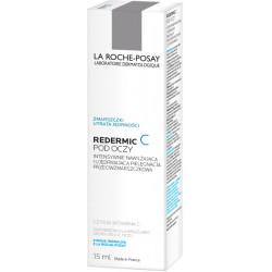 La Roche-Posay Redermic C Intensywnie Nawilżająca i Ujędrniająca Pielęgnacja Przeciwzmarszczkowa pod Oczy 15ml