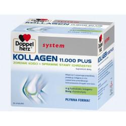Doppelherz System Kollagen 11.000 Plus 30 ampułek po 25ml