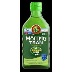 Moller's Tran Norweski Smak jabłkowy płyn 250ml
