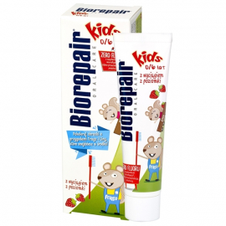 BioRepair Kids pasta do zębów dla dzieci 0-6 lat 50ml