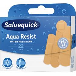Plastry Salvequick Aqua Resist wodoodporne 1 Opakowanie (22 sztuki)
