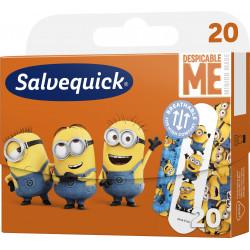 Plastry Salvequick Minionki 1 Opakowanie (20 sztuk)