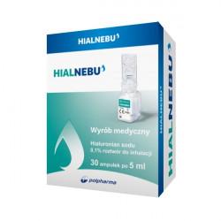 Nebu Hialnebu 0,1% Roztwór do inhalacji 5x30 ampułek 31.08.2020r.
