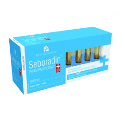 Seboradin Przeciwłupieżowe 14 Ampułek po 5,5ml