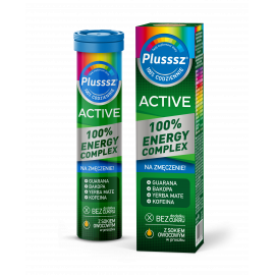 Plusssz Active 100% Energy Complex 20 tabletek musujących