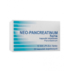 Neo-Pancreatinum Forte 20 kapsułek