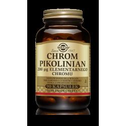 SOLGAR Chrom pikolinian 90 kapsułek