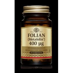 SOLGAR Folian 400ug 50 tabletek