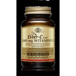 SOLGAR Ester C-Plus Witaminy C 1000mg 30 tabletek