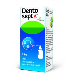 Dentosept A Płyn do stosowania w jamie ustnej z aplikatorem 25g Phytopharm