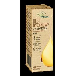 Olej rycynowy z aplikatorem Phytopharm 30ml