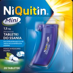 NiQuitin Mini 1,5mg  20 tabletek do ssania