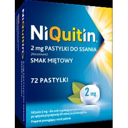 Niquitin 2mg 72 pastylki