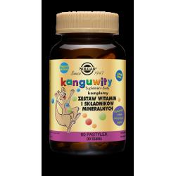 SOLGAR Kanguwity (smak soczyste jagody) 60 pastylek