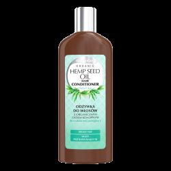 GlySkinCare Organic Odżywka do włosów z organicznym olejem konopnym 250ml