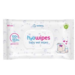 H2Owipes Baby Chusteczki nawilżane 60 sztuk