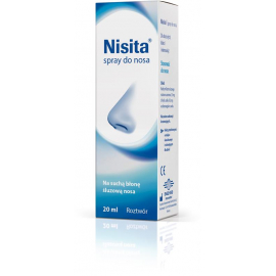 Nisita Spray do nosa 20ml Salveo