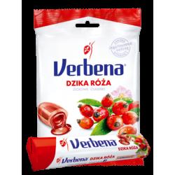 Verbena Nadziewane ziołowe cukierki z dziką różą i witaminą C 60g